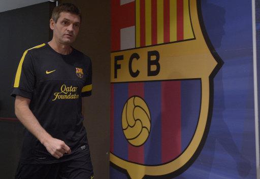 Spain Soccer La Liga Barcelona