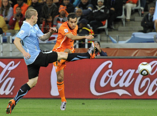 Netherlands beat Uruguay 3-2 to reach finals