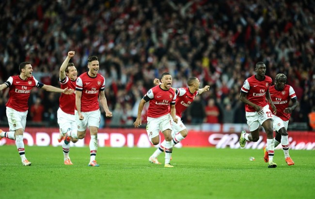 Soccer - FA Cup - Semi Final - Wigan Athletic v Arsenal - Wembley Stadium