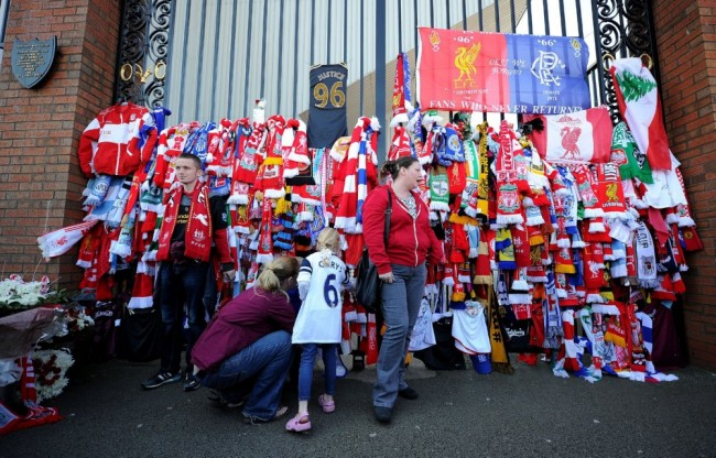 Soccer - Hillsborough 25th Anniversary Memorial Service - Anfield