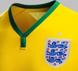 england yellow