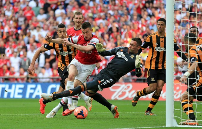 Soccer - FA Cup - Final - Arsenal v Hull City - Wembley Stadium