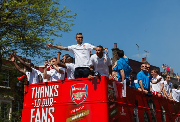 Soccer - FA Cup - Arsenal Winners Parade