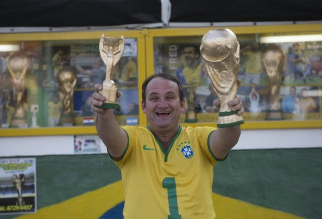 WCup Brazil Trophy Photo Gallery