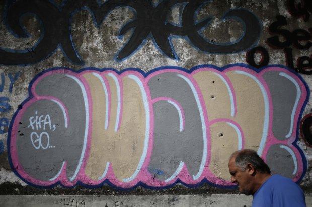 Brazil WCup Graffiti