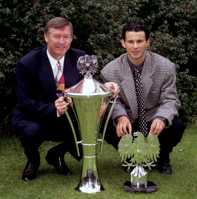 Soccer - Barclays Awards 1992-93