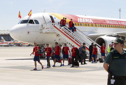 Spain Soccer Euro 2012 Celebrations