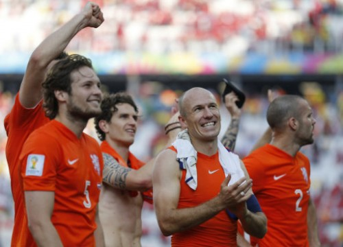 Brazil Soccer WCup Netherlands Chile