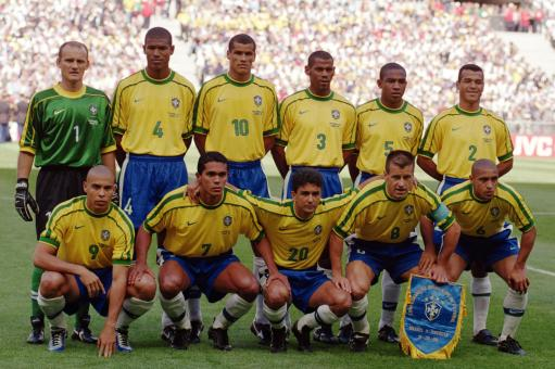 Soccer - World Cup France 98 - Group A - Brazil v Scotland