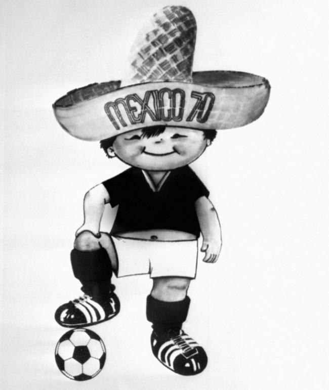 Soccer - FIFA World Cup - Mexico 1970 Mascot - Juanito