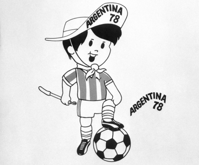 Soccer - FIFA World Cup - Argentina 1978 - Logo
