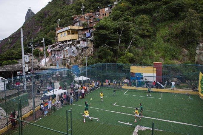 Brazil WCup Favela