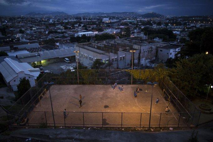 Brazil WCup Slum Soccer Photo Essay