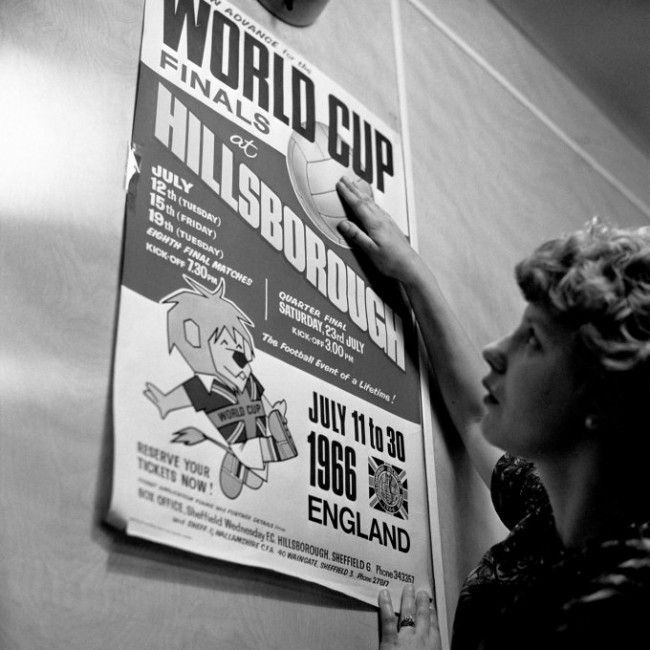 Soccer - World Cup England 1966 - Hillsborough