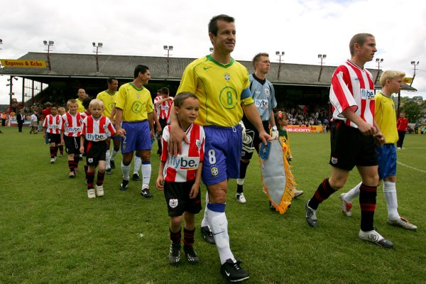 Soccer - Friendly - Exeter City v Brazil