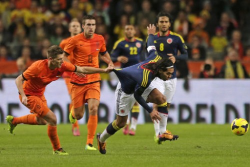 Netherlands Colombia Soccer