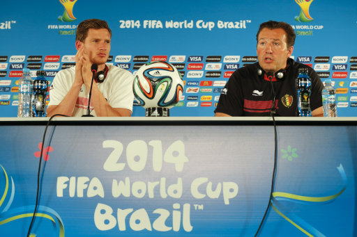 Brazil Soccer WCup Belgium