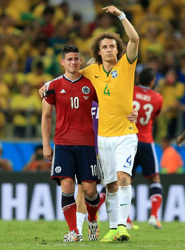 Soccer - FIFA World Cup 2014 - Quarter Final - Brazil v Colombia - Estadio Castelao