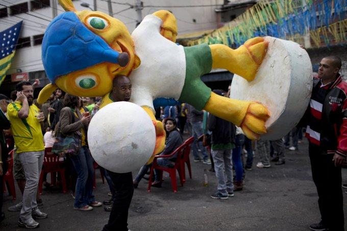 Brazil WCup Soccer Brazil Germany