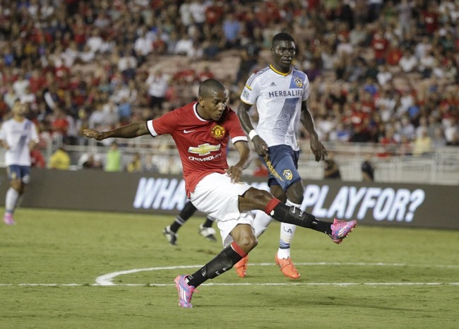 Manchester United Galaxy Soccer