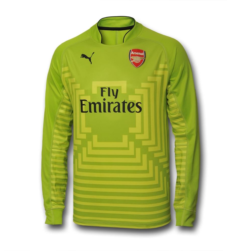 452d771907e Replica Kit. Chris Wright. 11th, July 2014. Men's Home Kit long sleeved  goal keeper's replica shirt, Puma sponsor ...
