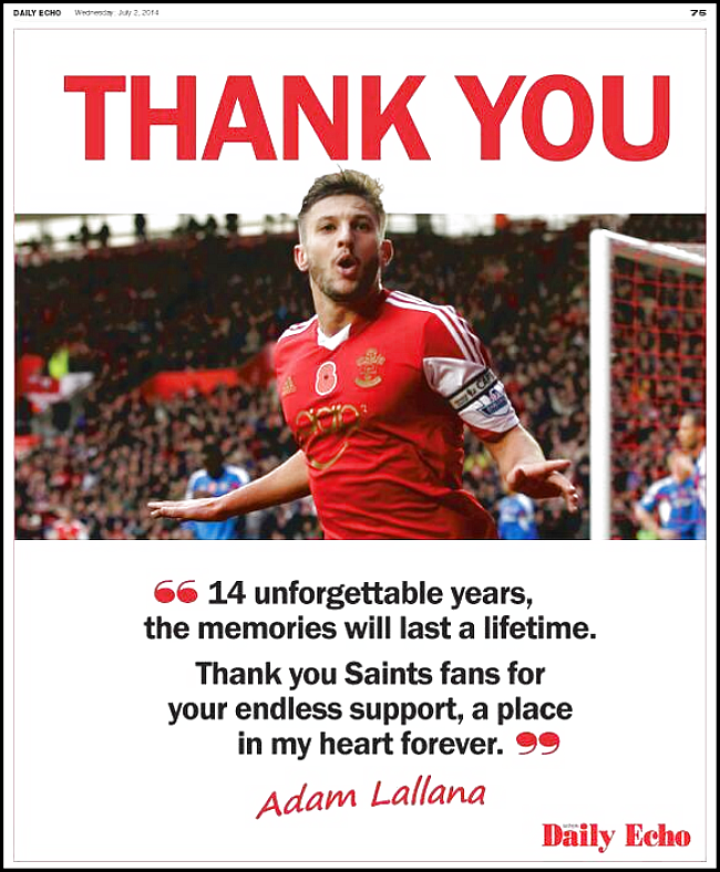 lallana-thanks