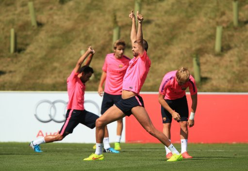 Soccer - Barcelona Pre-Season Training Camp - Day Two - St George's Park