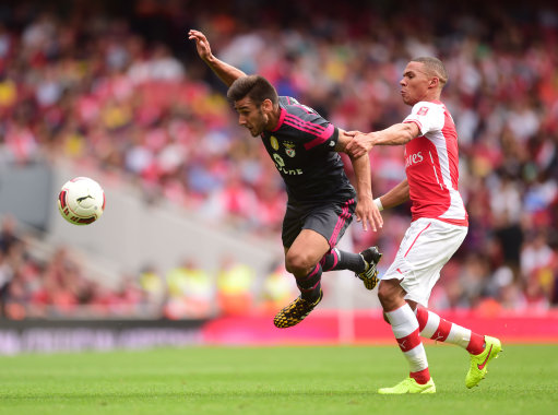 Soccer - 2014 Emirates Cup - Arsenal v SL Benfica - Emirates Stadium