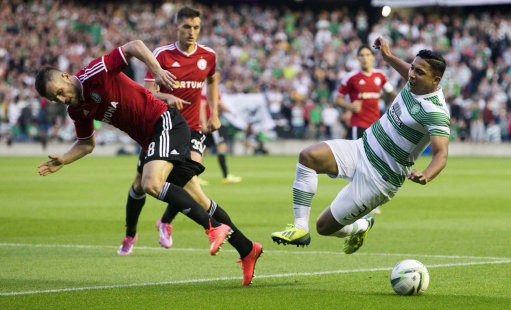 Soccer - Champions League Qualifying - Third Round - Second Leg - Celtic v Legia Warsaw - Murrayfield