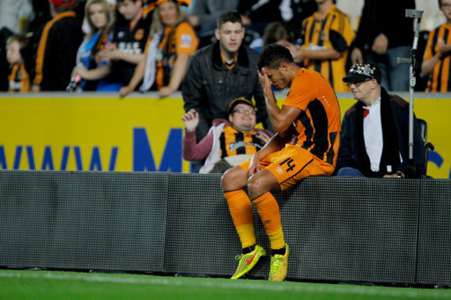 Hull City's Jake Livermore after the match