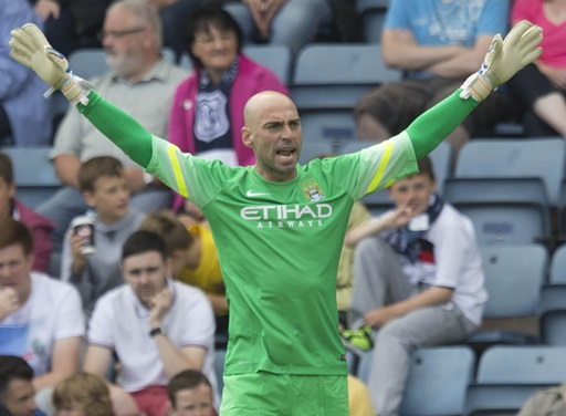 Soccer - Pre-Season Friendly - Dundee v Manchester City - Dens Park