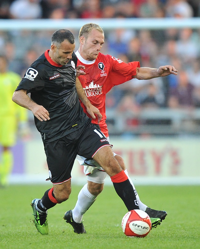 Soccer - Pre-season Friendly - Salford City v The Class of 92 - AJ Bell Stadium