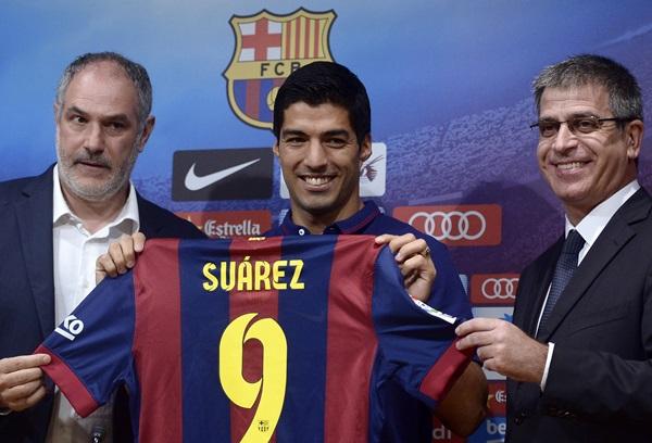 Spain Soccer Suarez
