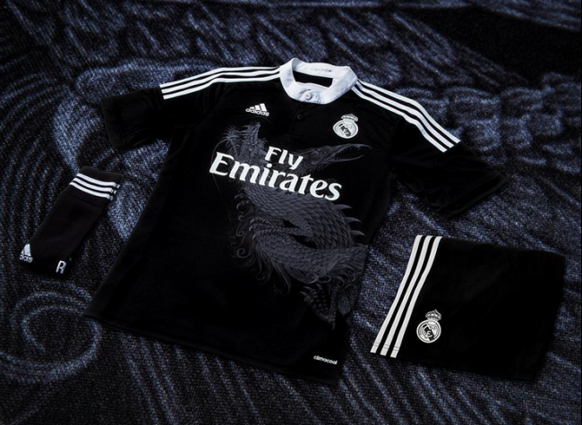 Real Madrid's Awesome New Champions League Third Kit Has A