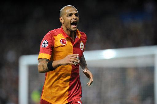 Soccer - UEFA Champions League - Quarter Final - First Leg - Real Madrid v Galatasaray - Santiago Bernabeu