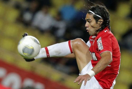 Britain Soccer Man Utd Falcao