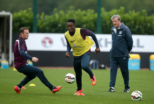 Soccer - International Friendly - England v Norway - England Training Session - Day One - London Colney