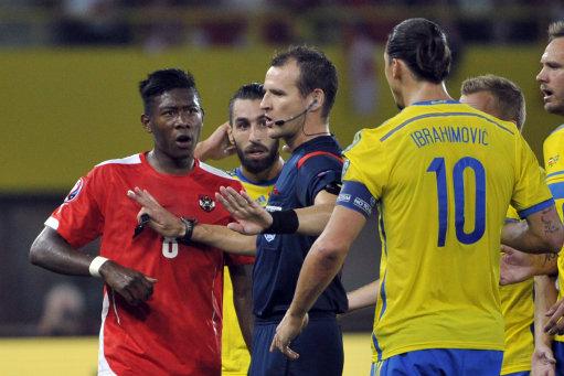 Austria Soccer Euro Sweden