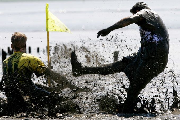 Germany Mud Flats Soccer Tournament