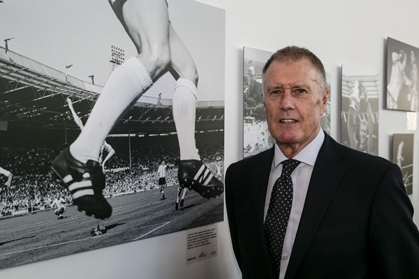 A Century of Wembley Memories Exhibition in association with Getty Images - Launch shoot
