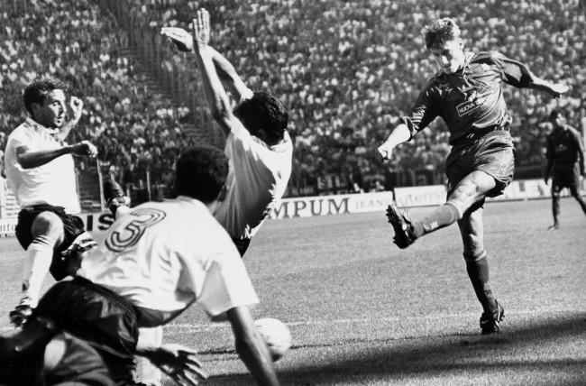 Il primo gol di Totti