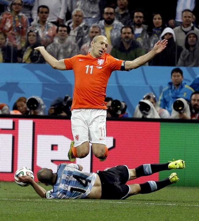 Brazil Soccer WCup Netherlands Argentina