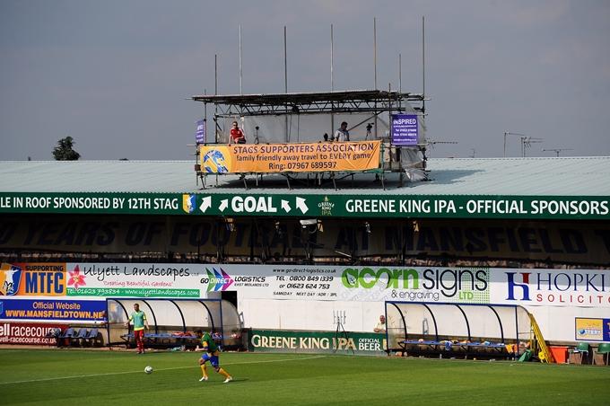 Soccer - Pre-Season Friendly - Mansfield Town v Nottingham Forest - Field Mill