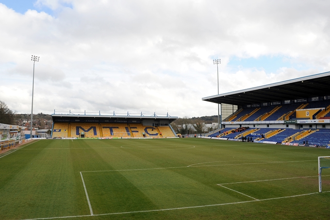 Soccer - Sky Bet League Two - Mansfield Town v Chesterfield - One Call Stadium