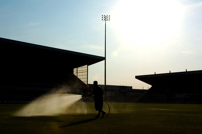 Soccer - Friendly - Mansfield Town v Derby County - Field Mill