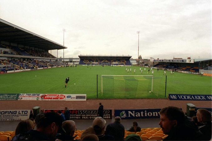 Soccer - Nationwide League Division Three - Mansfield Town v Plymouth Argyle