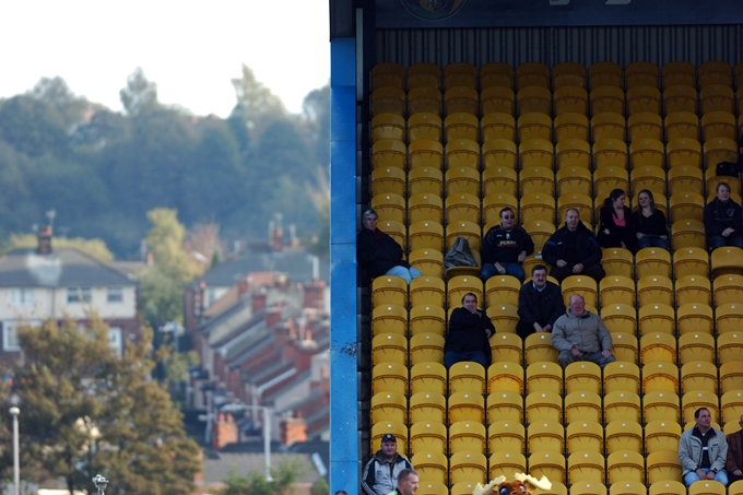 Soccer - Coca-Cola Football League Two - Mansfield Town v Notts County - Field Mill Ground