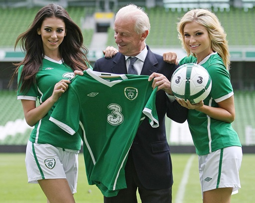 Soccer - Republic of Ireland Sponsorship Announcement - Aviva Stadium