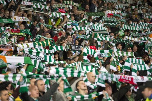 Soccer - UEFA Champions League - Group H - Celtic v Ajax - Celtic Park, suppporters