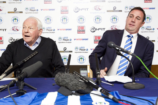 Soccer - Sky Bet Championship - Wigan Athletic Press Conference - DW Stadium